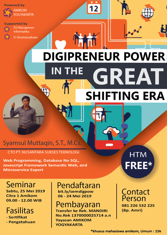 Seminar digipreneur